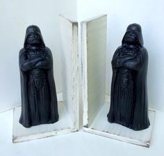Star Wars Darth Vader Bookends by robinseggvintageNC on Etsy
