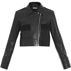 Balenciaga Leather double-pocket biker ($2,267)