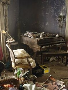 abandoned victorian home interior - Google Search