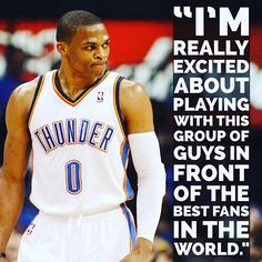 Thunder signs Russell Westbrook to a contract extension! Oklahoma City Thunder Basketball, Basketball Players, Thunder Strike, Thunder Thunder, Nba Quotes, Qoutes, Nba Funny, Funny Memes, Lou Williams