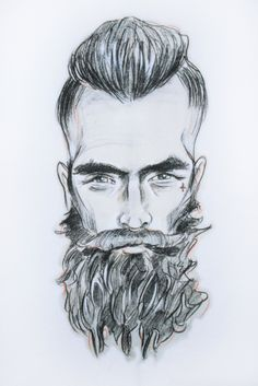 Want some Beard on your chest?  Click here to shop The Beard t-shirt @@@bypoststreet http://by-post-street.myshopify.com/collections/collection-3/the-beard