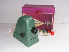 Diaskop Bajka TKZ Vintage Slide Projector Made in Poland With Original Box And Slides by VintageshopSerbia on Etsy