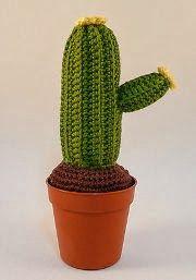 2000 Free Amigurumi Patterns: Amigurumi Cactus