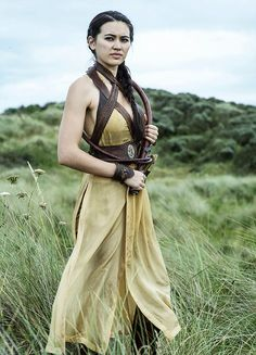 """Game of Thrones """"Sons of the Harpy"""" Sand Snakes Nymeria Game Of Thrones Costumes, Game Of Thrones Tv, Game Costumes, Colleen Wing, Divas, Jessica Henwick, Got Characters, Warrior Queen, Hbo Series"""