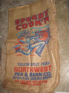 old burlap bags | Vintage Sea Island Pure Cane Sugar ...