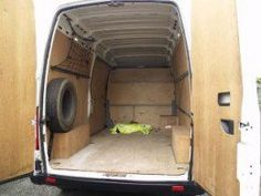 Converting A Panel Van Into Campervan Motorcaravan