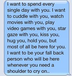 He Sent This To Me . <3