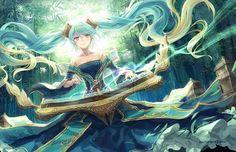 Anime Art Sona by Janice :: League of Legends