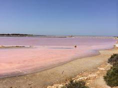 Laguna dello Stagnone di Marsala in Marsala, Sicilia