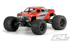 Check out the new Pro-Line 2014 Chevy Silverado Body that is made to fit the #traxxas #summit #REVO 3.3 #tmaxx 3.3 and #teamassociated #MGT monster truck Mfg part number 3430-00