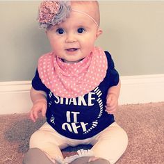 Shake It Off baby & toddler graphic tee!