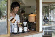 Open to all: Kiyokazu Suzuki welcomes wannabe roasters at recently opened Glitch coffee. | JAMES HADFIELD