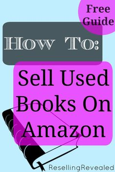 Sourcing and Selling Used Books for Profit Sell Used Books Online, Sell Books On Amazon, Earn Money From Home, Make Money Blogging, Saving Money, Ways To Save Money, How To Make Money, Ebay Selling Tips, Selling Online