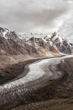 Drang Drung Glacier, India