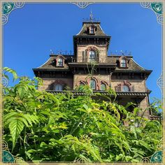 Phantom manor in Frontierland Disneyland Paris DLP Haunted house mansion Victorian villa Haunted Mansion, Disneyland Paris, Disney Pictures, Disney Parks, Villa, Hotels, Victorian, Mansions, Instagram Posts