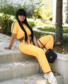 Angel 😇😍💛 Angela Renee White, Blac Chyna, Miami Fashion, Celebs, Celebrities, Love Her, Leather Pants, Capri Pants, Instagram
