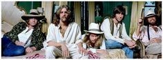 the blues had a baby, and they named it rock&roll • The Eagles Hotel California photoshoot, 1976