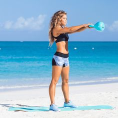 Beach Bod Workout! Tone It Up with your trainers Karena and Katrina, fitness and lifestyle trainers!