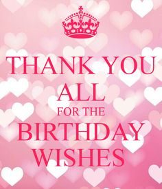 Birthday Quotes : thanks for the birthday wishes quote Thank You Quotes For Birthday, Birthday Message To Myself, Thank You For Birthday Wishes, Birthday Greetings For Facebook, Funny Thank You, Birthday Thanks, Birthday Wishes Quotes, Best Birthday Wishes, Happy Birthday Messages