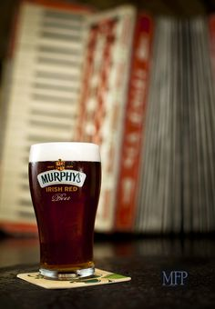 Murphys Irish Beer. I don't know if I've had Murphy's. Certainly something to remedy