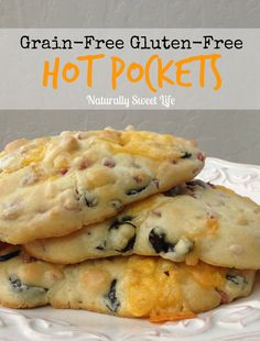 grain-free gluten-free hot pocket recipe that we both can enjoy, and let me just say we did! These hot pockets are absolutely amazing. They are good to eat