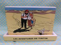 タンタンの冒険旅行 TINTIN 陶器 プランター 鉢 検 洋書絵本映画_画像1