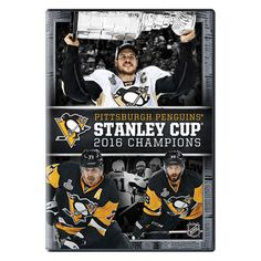 Pittsburgh Penguins 2016 Stanley Cup Champions DVD