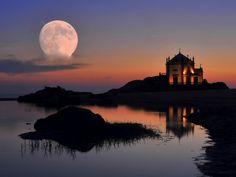 Portugal Porto District Arcozelo *Capela do Sr. da Pedra, Miramar, V.N.Gaia (exposição múltipla) 2*