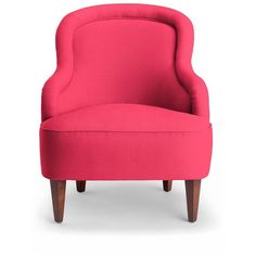 Kate Spade Drake Slipper Chair (207.675 RUB) ❤ liked on Polyvore featuring home, furniture, chairs, accent chairs, home decor and kate spade