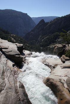 Yosemite National Park: From Nevada Falls Footbridge