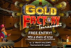Play for a share of €750. Free Entry!