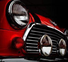 Classic MINI front end, Classic beauty. #minicooper #headlight #dramatic