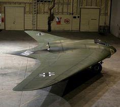 "Restauración de la ""ala volante"" Horten 229 V3"