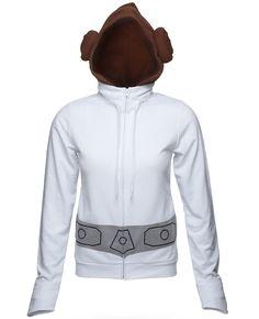 Princess Leia hoodie. I want one!!