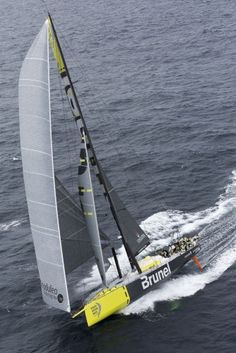 Volvo Ocean Race 2014-2015, everyone has to have goals #1 race a sail boat