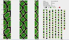 Bead Crochet Patterns, Bead Crochet Rope, Beaded Jewelry Patterns, Crochet Bracelet, Bracelet Patterns, Beading Patterns, Snake Patterns, Bead Loom Bracelets, Diy Schmuck