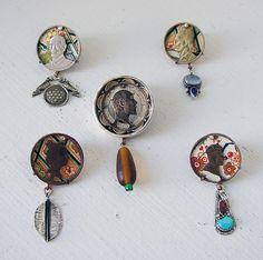 BOB EBENDORF-USA, Greenville, NC by Thomas Mann Gallery I/O, via Flickr Funky Jewelry, Modern Jewelry, Turquoise Jewelry, Jewelry Crafts, Jewelry Art, Beaded Jewelry, Jewelry Necklaces, Handmade Jewelry, Beaded Necklace