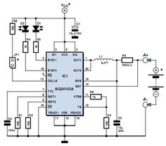 How to make Lithium Battery Charger Circuit using BQ24103