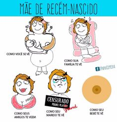 Mãe de recém-nascido! #memes #bebe