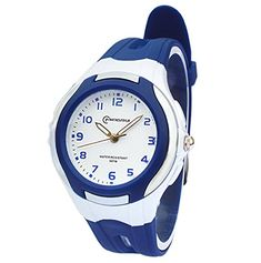 AZLAND Analog Quartz Digital Watches for Kids Boys GirlsDark Blue *** Check out this great product.