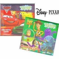 "Disney Bath Books ~ Set of 2 (Cars, Colorful Cars; Toy Story, Counting Time) by Greenbrier. $6.95. Disney Cars = Colorful Cars; Disney Toy Story = Counting Time. Have fun learning about counting and colors with this book series designed to get wet!. Each book measures 5.5"" x 5"". Disney Bath Books ~ Set of 2. Disney Bath Books ~ Set of 2 (Cars, Colorful Cars; Toy Story, Counting Time).  Have fun learning about counting and colors with this book series designed to get wet!  Each..."
