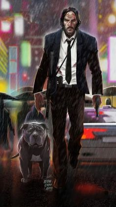 John Wick and Dog iPhone Wallpaper John Wick Hd, John Wick Movie, Keanu Reeves John Wick, Keanu Charles Reeves, Baba Yaga John Wick, Caricatures, Tattoo No Peito, Keanu Reaves, Hype Wallpaper