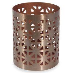 EQUADORE openwork metal candlestick