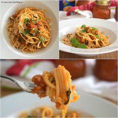 """Die Lösung zum """"Gemüse-Sneak-Peek"""" lautet: Mediterranes Pesto Rustico an Spaghetti! Danke TV-Werbung für die geile Inspiration ! #pestorustico #rezeptaufdemblog #rezepte #rezept #recipes #foodblog #food #foodie #yummy #tasty #delicious #lecker #omno Pesto, Spaghetti, Ethnic Recipes, Food, Inspiration, Italian Kitchens, Diy, Recipes, Thanks"""