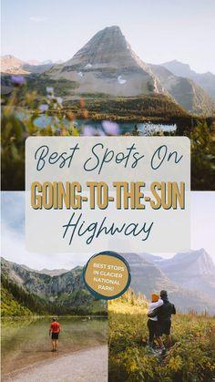 Glacier National Park Montana, Glacier Park, Yellowstone National Park, Glacier Montana, Places To Travel, Places To Go, Us National Parks, Road Trip Usa, Future Travel
