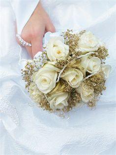 gold bouquet - Google Search