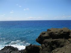 So blue! #travel #hawaii
