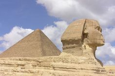 Great Pyramid of Giza and Sphinx, Egypt. Praying the turmoil ends in Egypt and I will be able to visit. It's one of my dream vacations.