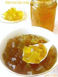 Sweetness of watermelon peel-colors on your plate Canning Recipes, Thai Red Curry, Watermelon, Plates, Treats, Homemade, Cooking, Ethnic Recipes, Sweet