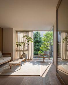 Casa japonesa: elementos tradicionais + 50 ideias no estilo oriental Tokyo Apartment, Minimal Apartment, Design Apartment, Apartment Projects, Dream Apartment, Interior Design Blogs, Interior Design Minimalist, Japanese Interior Design, Japanese Design